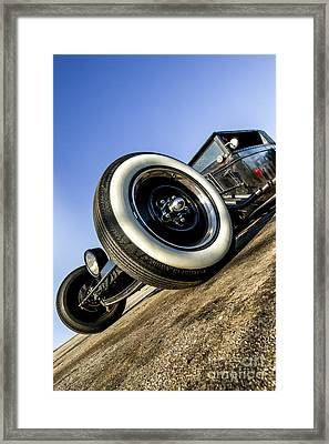 Helltrain- Zane Cox Framed Print by Holly Martin