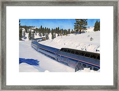 Helping Hand Framed Print by Donna Kennedy