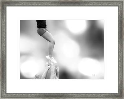 Helping Hands Framed Print by Bob Orsillo