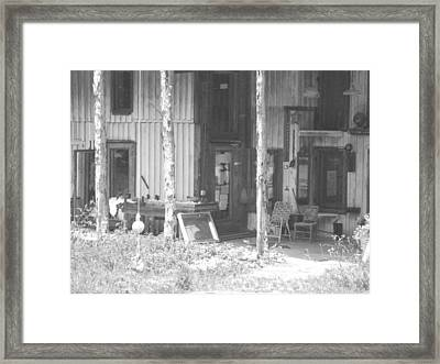 Helsabeck Home Framed Print by Derry Murphy