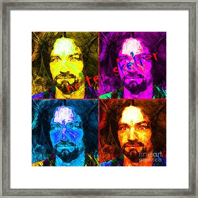 Helter Skelter 20141213 Square Four Framed Print by Wingsdomain Art and Photography