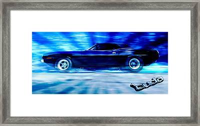 Hemi Cuda Framed Print by Phil 'motography' Clark