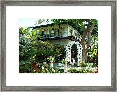 Hemingway House Framed Print by Kay Gilley