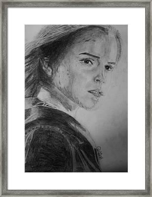 Hemione Granger Framed Print by Jaedin Always