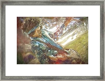 Hendrix Framed Print by Frederico Borges