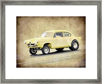 Henry J Gasser Framed Print by Steve McKinzie