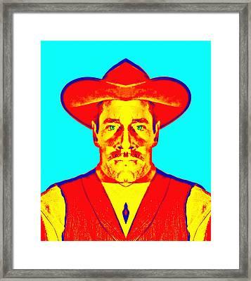 Henry Fonda Alias In My Darling Clementine Framed Print by Art Cinema Gallery
