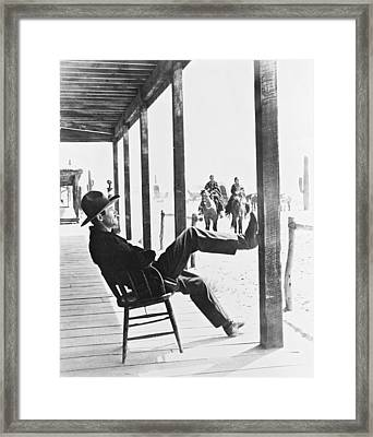 Henry Fonda In My Darling Clementine  Framed Print by Silver Screen