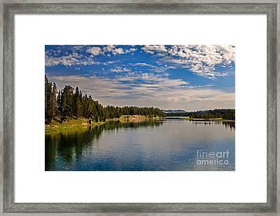 Henry Fork Of Snake River II Framed Print by Robert Bales