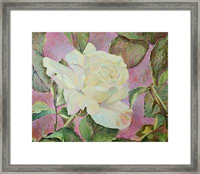 Her Majesty The Queen Framed Print by J Michael Orr