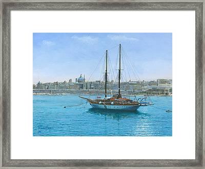 Hera 2 Valletta Malta Framed Print by Richard Harpum