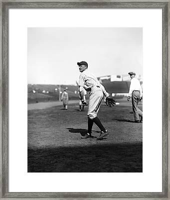 Herbert J. Herb Pennock Framed Print by Retro Images Archive