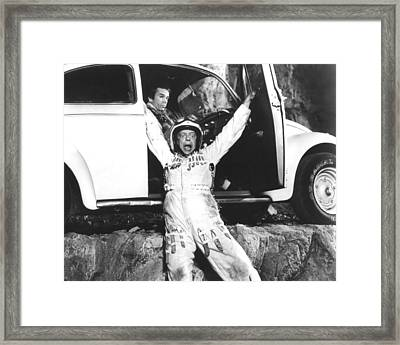 Herbie Goes To Monte Carlo  Framed Print by Silver Screen