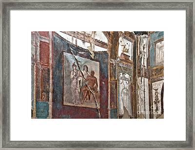 Herculaneum Wall Framed Print by Marion Galt