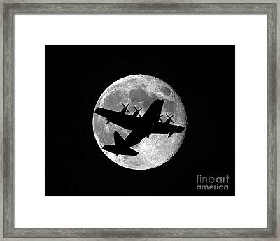 Hercules Moon Framed Print by Al Powell Photography USA