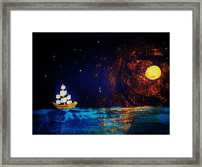 Here Come The Pirates Framed Print by Connie Thomas