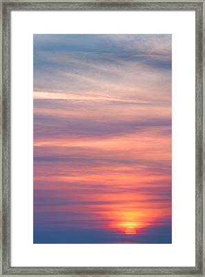 Here Comes The Sun Framed Print by Bill Wakeley