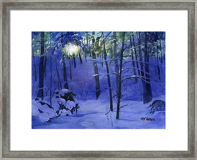 Here Comes The Sun Framed Print by Kris Parins