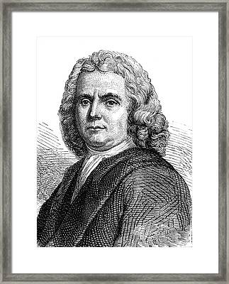 Hermann Boerhaave Framed Print by Collection Abecasis