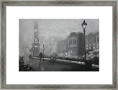 Herne Bay Halloween 2 Framed Print by Paul Mitchell