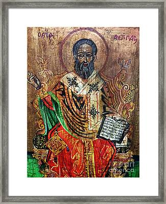 Herod Antipas Framed Print by Ryszard Sleczka