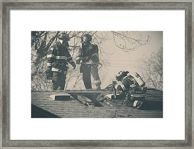 Heroes Framed Print by Laurie Search