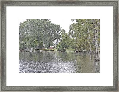 Hertford Nc Framed Print by Carolyn Ricks