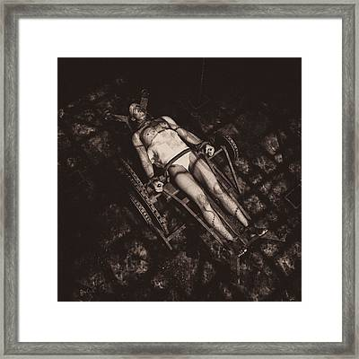 He's Alive Framed Print by Bob Orsillo