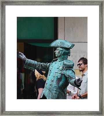 He's Alive Framed Print by Kym Backland