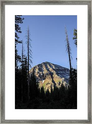 Hesperus Mountain Framed Print by Aaron Spong
