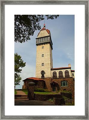 Heublein Tower Framed Print by Karol Livote