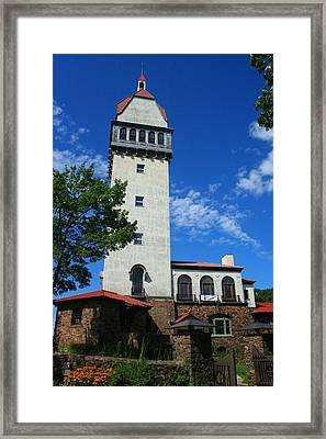 Heublein Tower Framed Print by Stephen Melcher