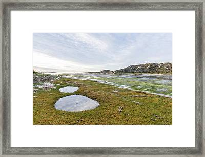 Heuningnes River And Estuary Framed Print by Peter Chadwick
