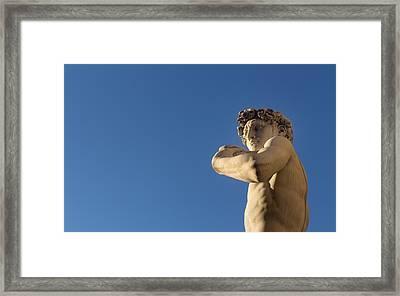 Hey Beautiful.. Framed Print by A Rey