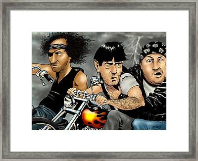 Hey Moe Framed Print by Jon Towle