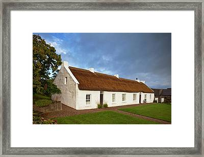 Hezletts Picturesque Thatched Cottage Framed Print by Panoramic Images
