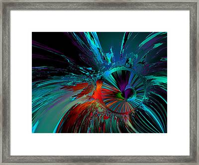 Hibernating Nymph Framed Print by Claude McCoy