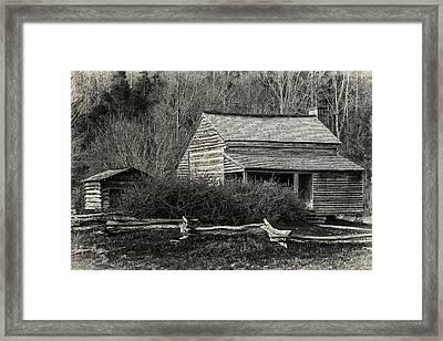 Hidden Away Framed Print by Mike Lang