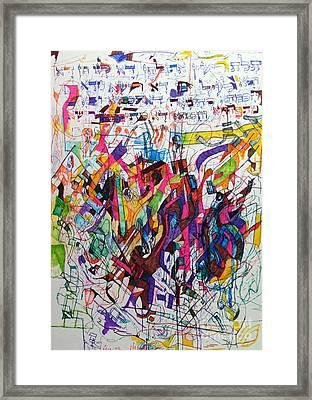 Hidden Framed Print by David Baruch Wolk