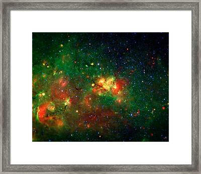 Hidden Nebula Framed Print by The  Vault - Jennifer Rondinelli Reilly