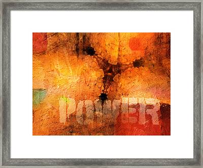 Hidden Power Artwork Framed Print by Lutz Baar