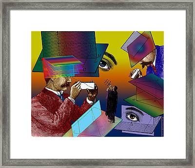 Hide And Seek Framed Print by Eric Edelman