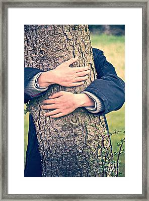 Hide And Seek Framed Print by Delphimages Photo Creations