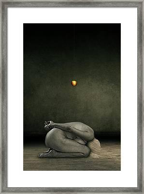 Hide My Self Framed Print by Johan Lilja