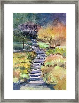 Hideaway Framed Print by Kris Parins