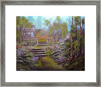 Hideaway Framed Print by Michael Mrozik