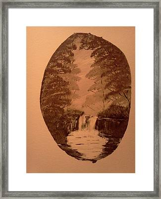 Hiding Place Framed Print by Renee McKnight
