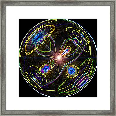 Higgs Boson Framed Print by Samuel Sheats