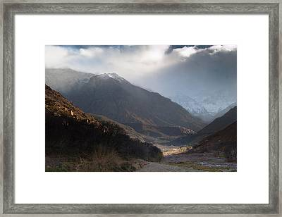 High Atlas Mountains Framed Print by Daniel Kocian
