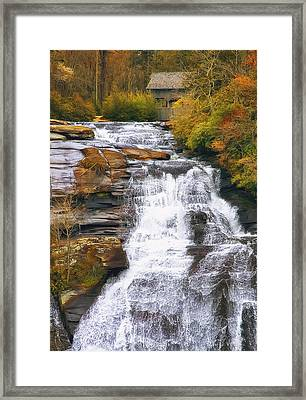 High Falls Framed Print by Scott Norris